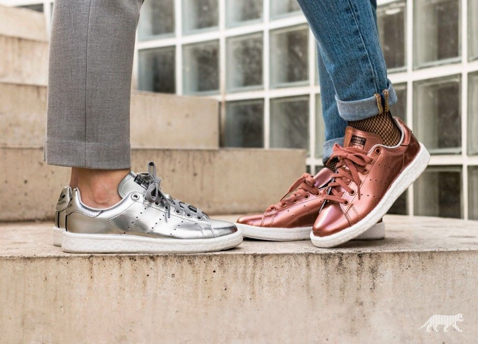adidas Stan Smith Boost W (Copper Metallic   Copper Metallic   Ftwr White) be6285d2d5
