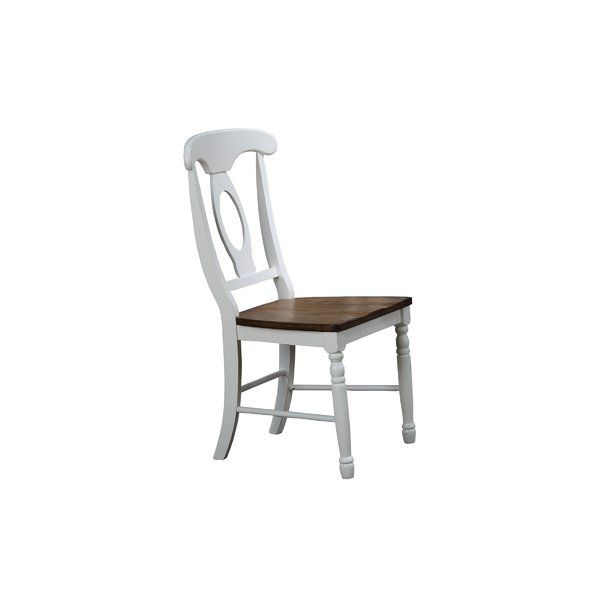 Calila Solid Wood Cross Back Side Chair Solid Wood