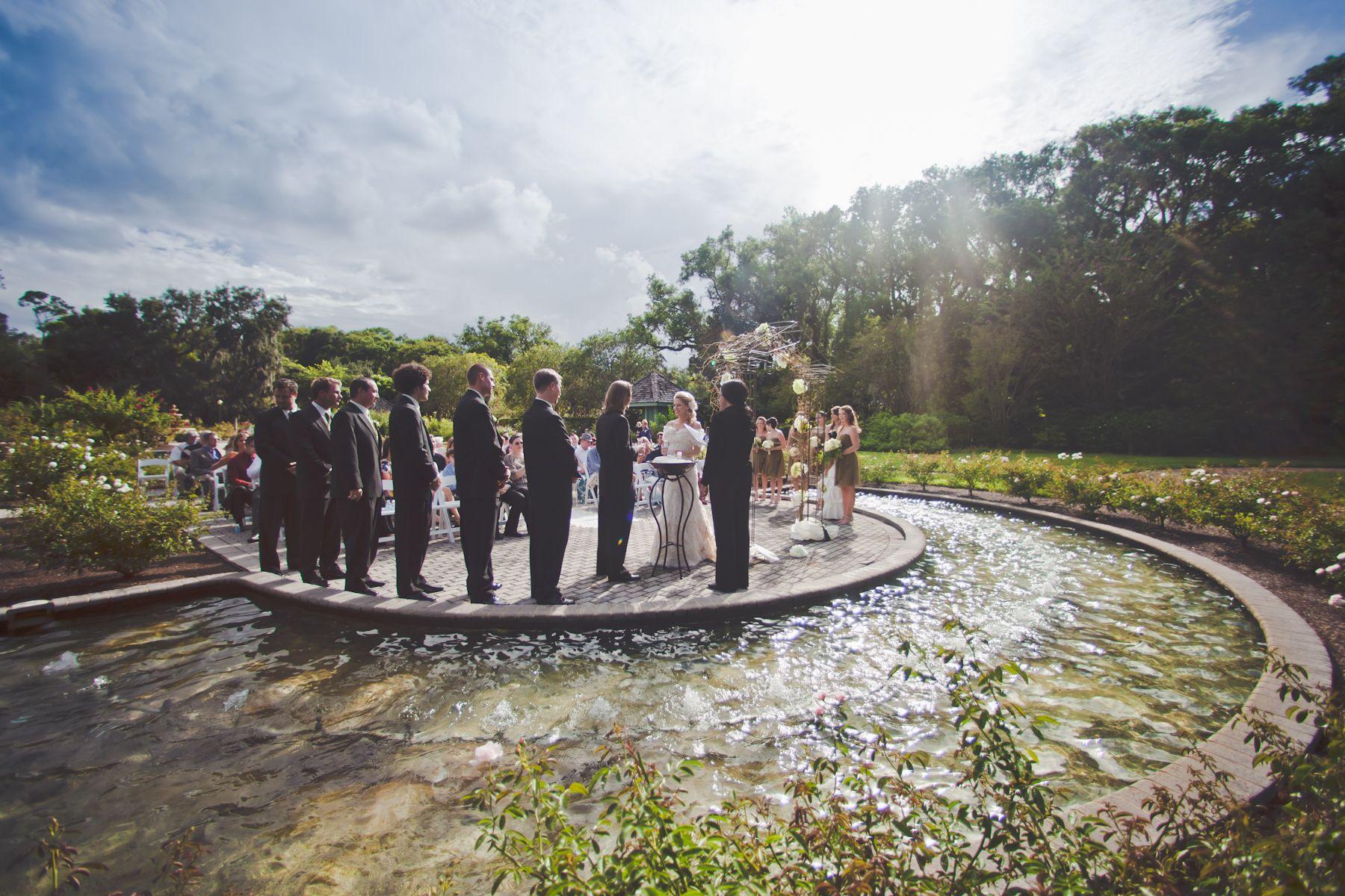 Garden wedding leu gardens orlando fl garden wedding