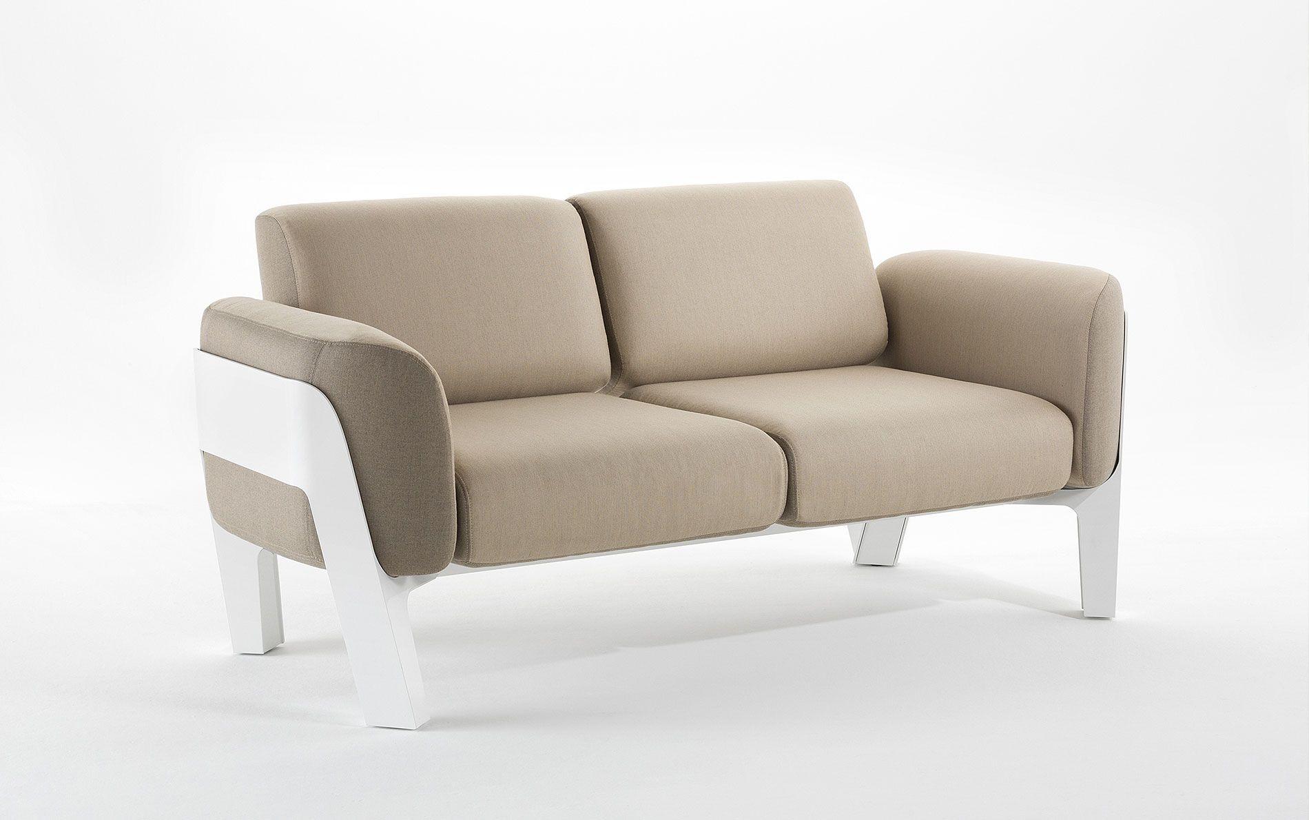 bienvenue gartensofa zweisitzer - möbel / gartenmöbel