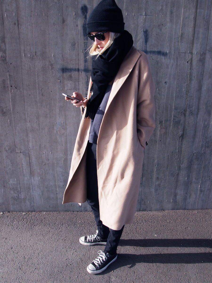 acne halsduk camel