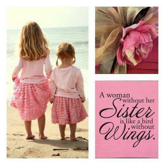 I miss my sister! I miss my sister, Sister in heaven