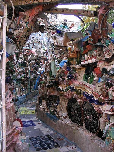 Isaiah Zagar is an awardwinning mosaic mural artist whose work