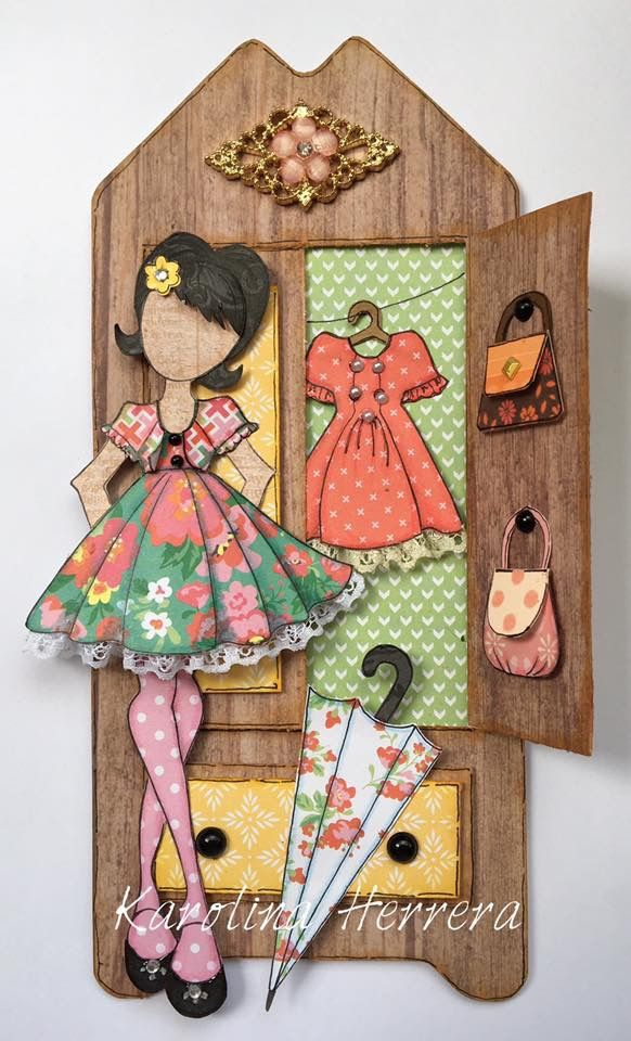 Paper Doll Tag