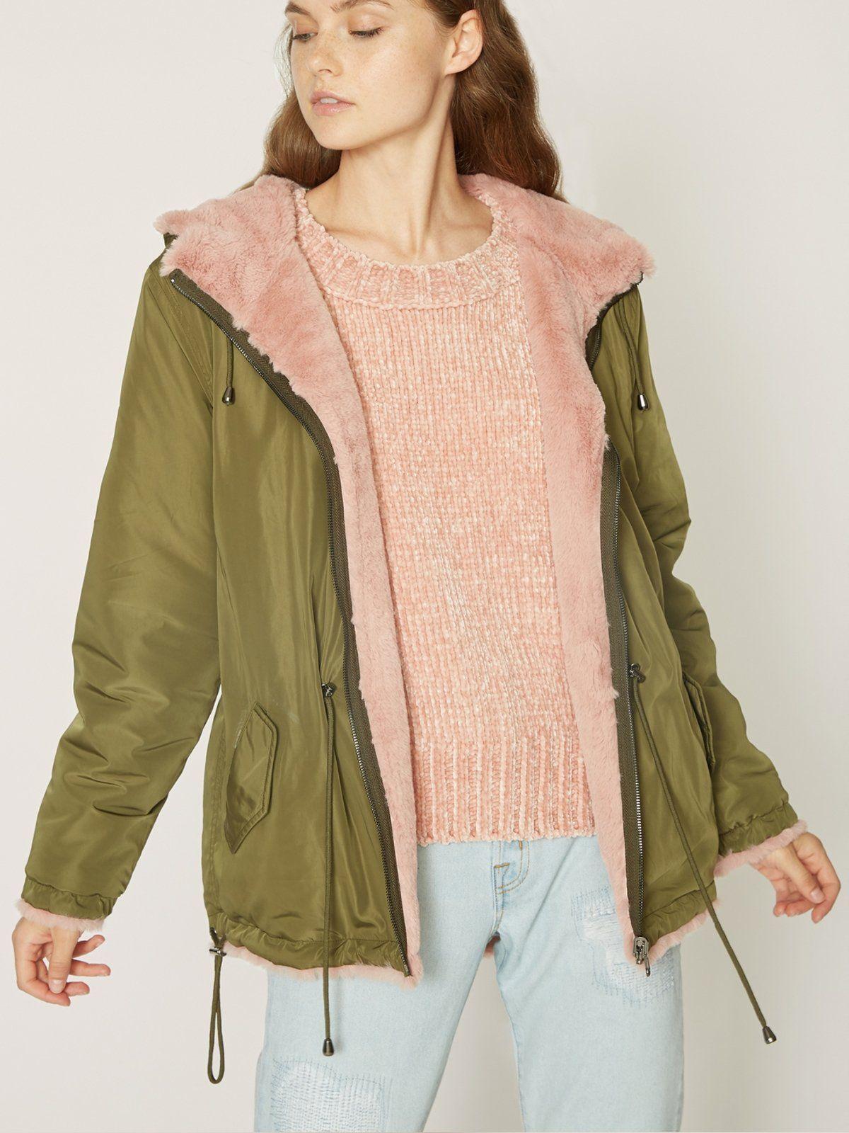 Reversible Fur Snug Mini Parka Jacket Prosperity Green By Sanctuary Clothing Sanctuary Clothing Womens Fashion Jackets Junior Coats [ 1600 x 1200 Pixel ]