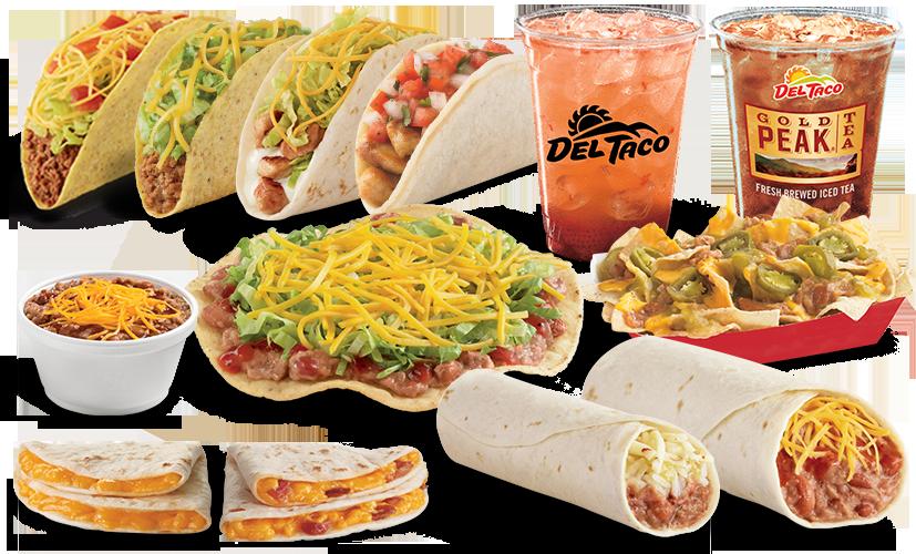 Del Taco With Price And Menu Holiday Hours American Fast Food Del Taco Menu Del Taco