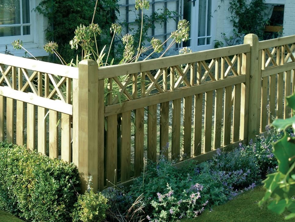 Types of Garden Fences | Garden fence panels, Decorative ...