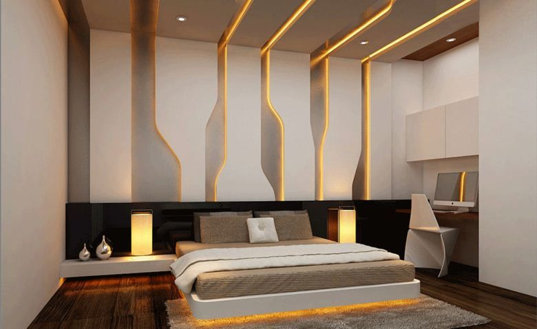 Pin By Zeinab Aboutaam On Bedrooms Modern Bedroom Design Modern Style Bedroom Modern Bedroom Interior