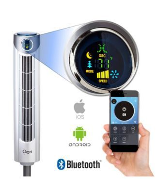 Ozeri Ultra 42 Tower Fan With Bluetooth And Noise