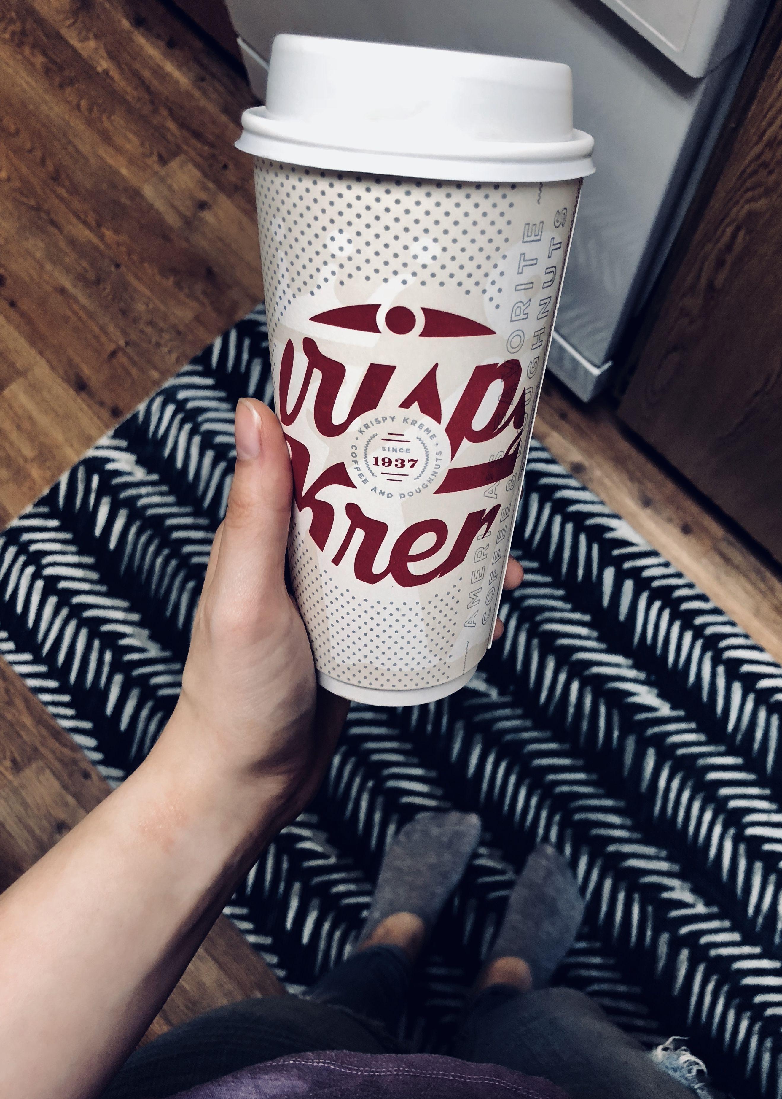 Krispy Kreme Vanilla Latte in 2019 Coffee, Dunkin donuts