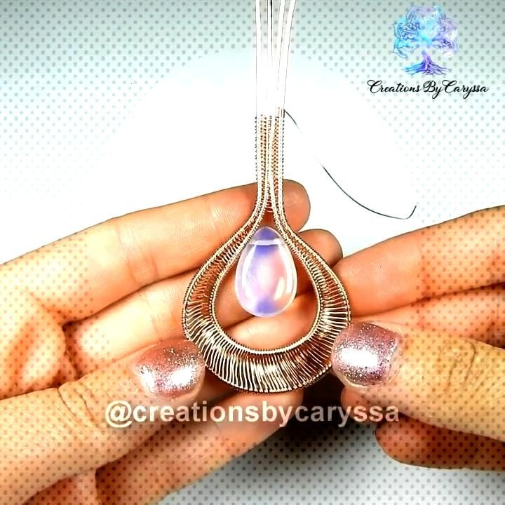 Quick Jewelry Making Tutorial I wanted to share one of my most unique pieces being made. I hope you