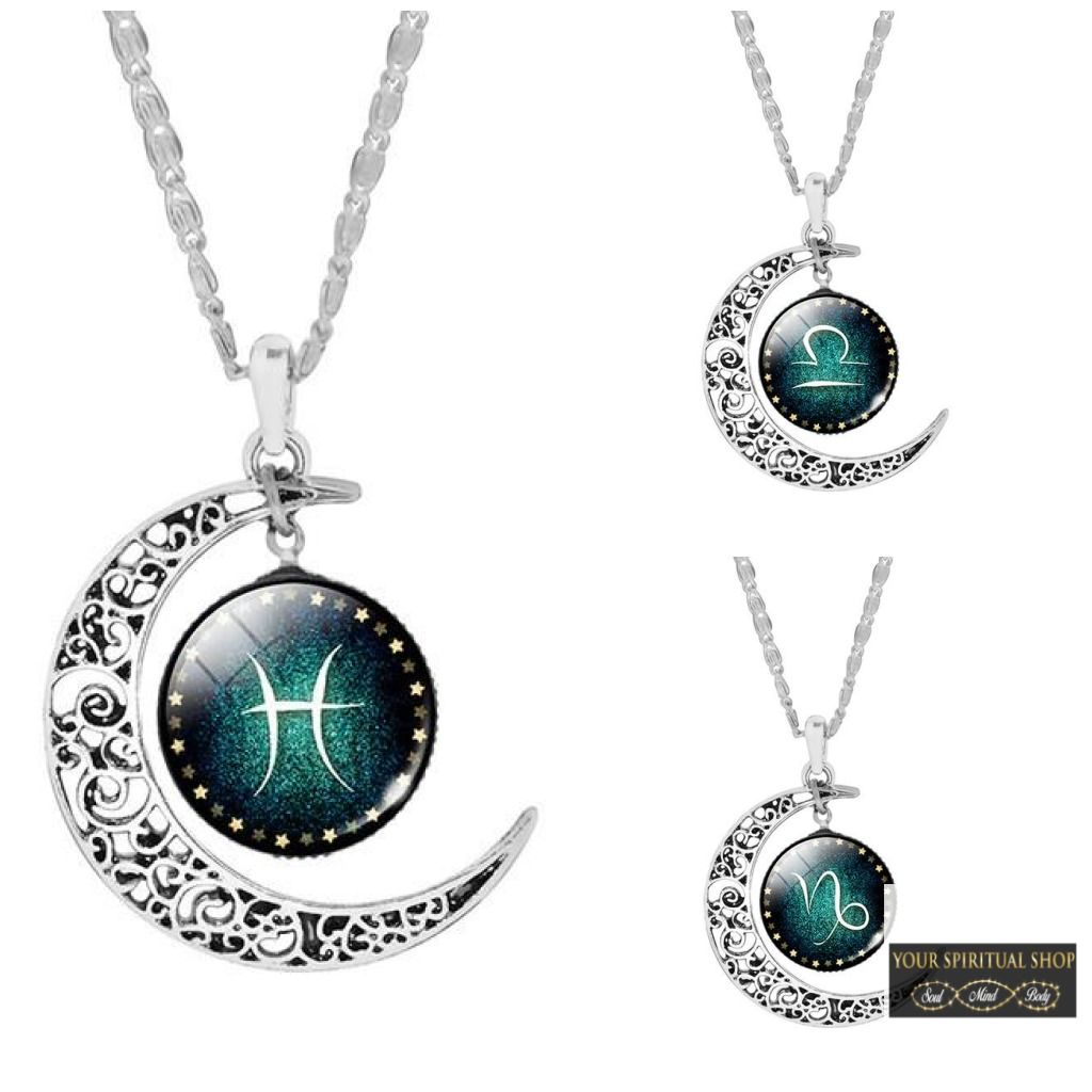 Zodiac pendant necklaces pendants and products