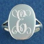 Want a ring with my monogram someday