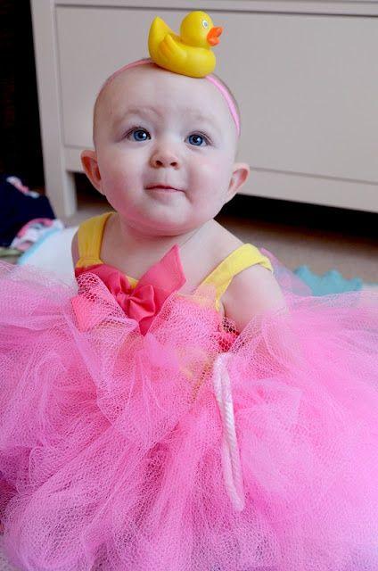 DIY Baby shower loofah costume HALLOWEEN CRAFTS  IDEAS - diy infant halloween costume ideas