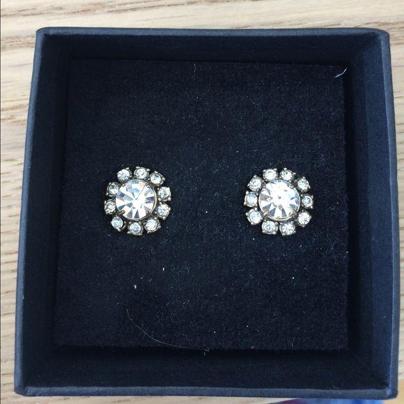 J crew earrings Never worn. No trades.  Price firm unless bundled. J. Crew Jewelry Earrings
