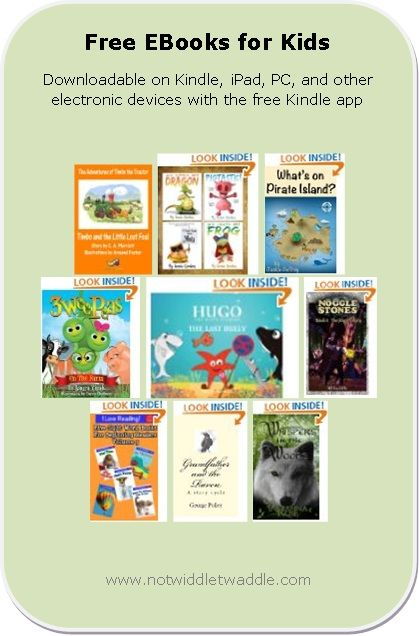 Today's list has a new Timbo the Tractor book, several picture books for toddlers, a the second book in the Noggle Stones series.