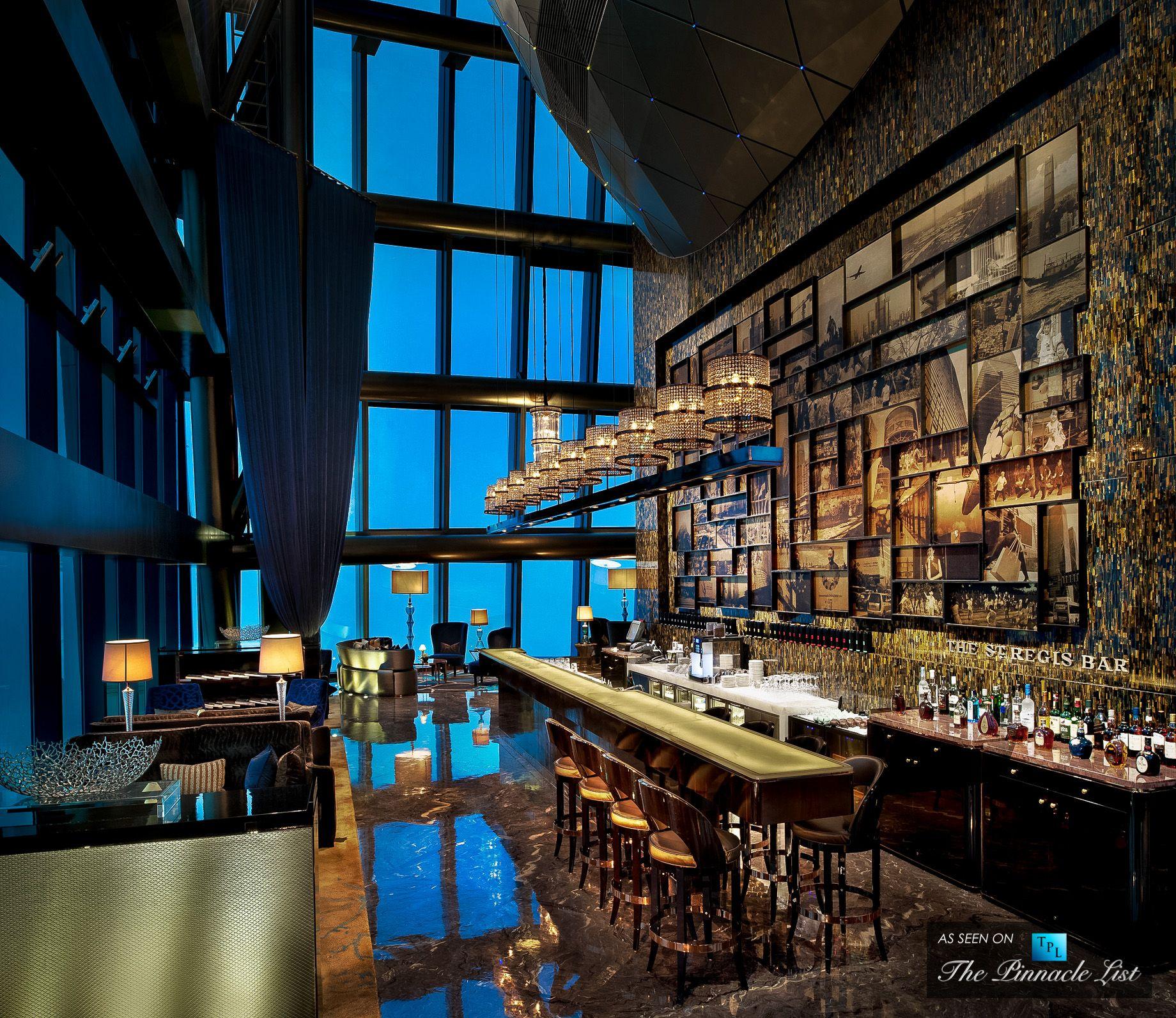 44 St Regis Shenzhen China St Regis Bar Jpg Hotel Lobby Design Hotel Interior Design Lobby Design