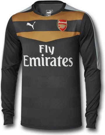 48255f7356f ARSENAL 15-16 GOALKEEPER KIT