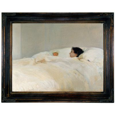 Historic Art Gallery 'Mother 1895' by Joaquín Sorolla Framed Painting Print