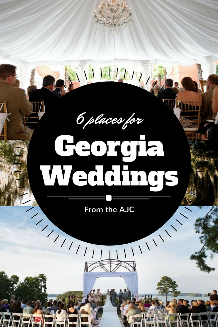 There are numerous wedding venues and receptions