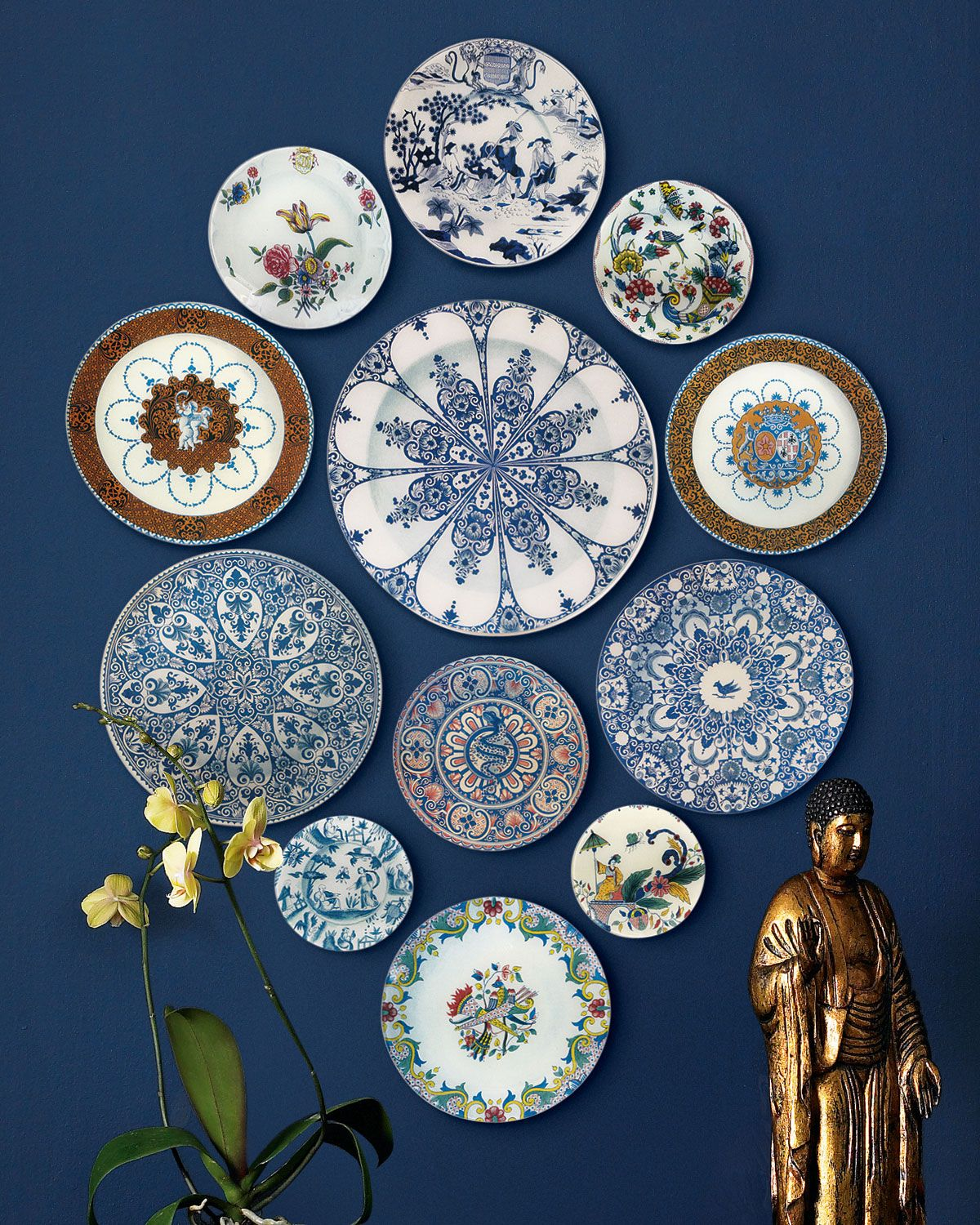 Handcrafted decorative plates by john derian mimic the antique handcrafted decorative plates by john derian mimic the antique imagery of hand painted faience pottery amipublicfo Image collections