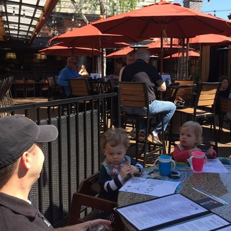 A hip, casual atmosphere makes Billy G's a popular spot for adults and kids alike.