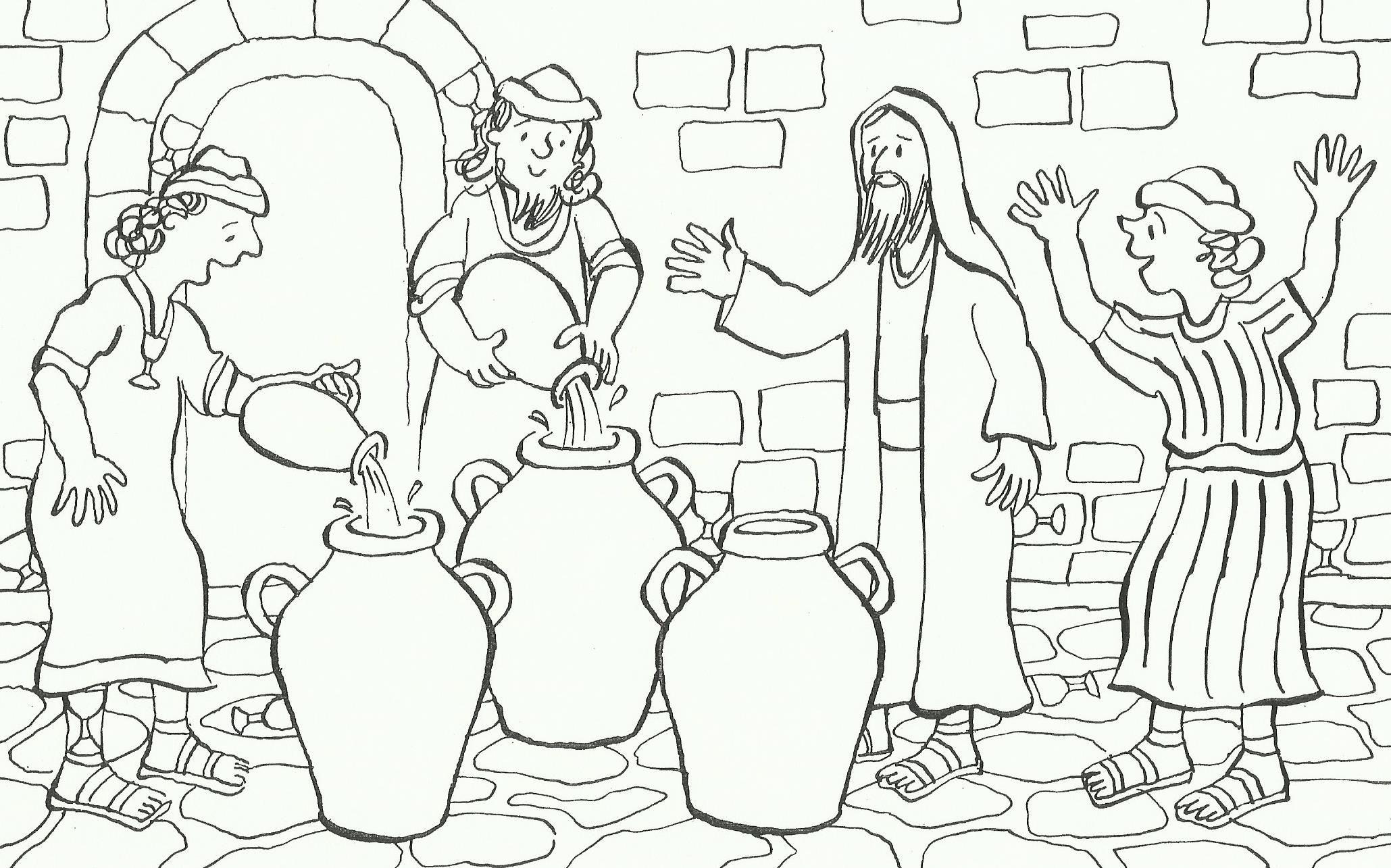 Pin By Aniko Takacsne Kiss On Bibliai Interaktiv Bible Crafts Church Crafts Water Into Wine