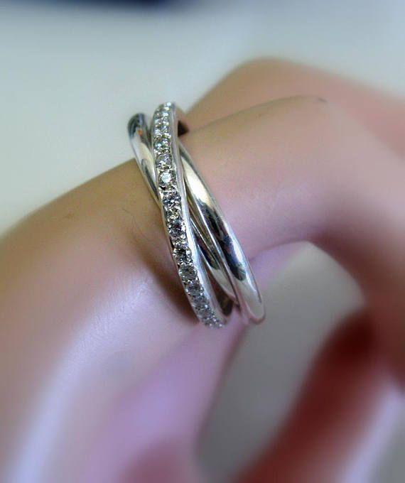 Den Perfekten Verlobungsring Als Symbol Für Ewige Liebe Elegante Handmade Sterling Silber Ring