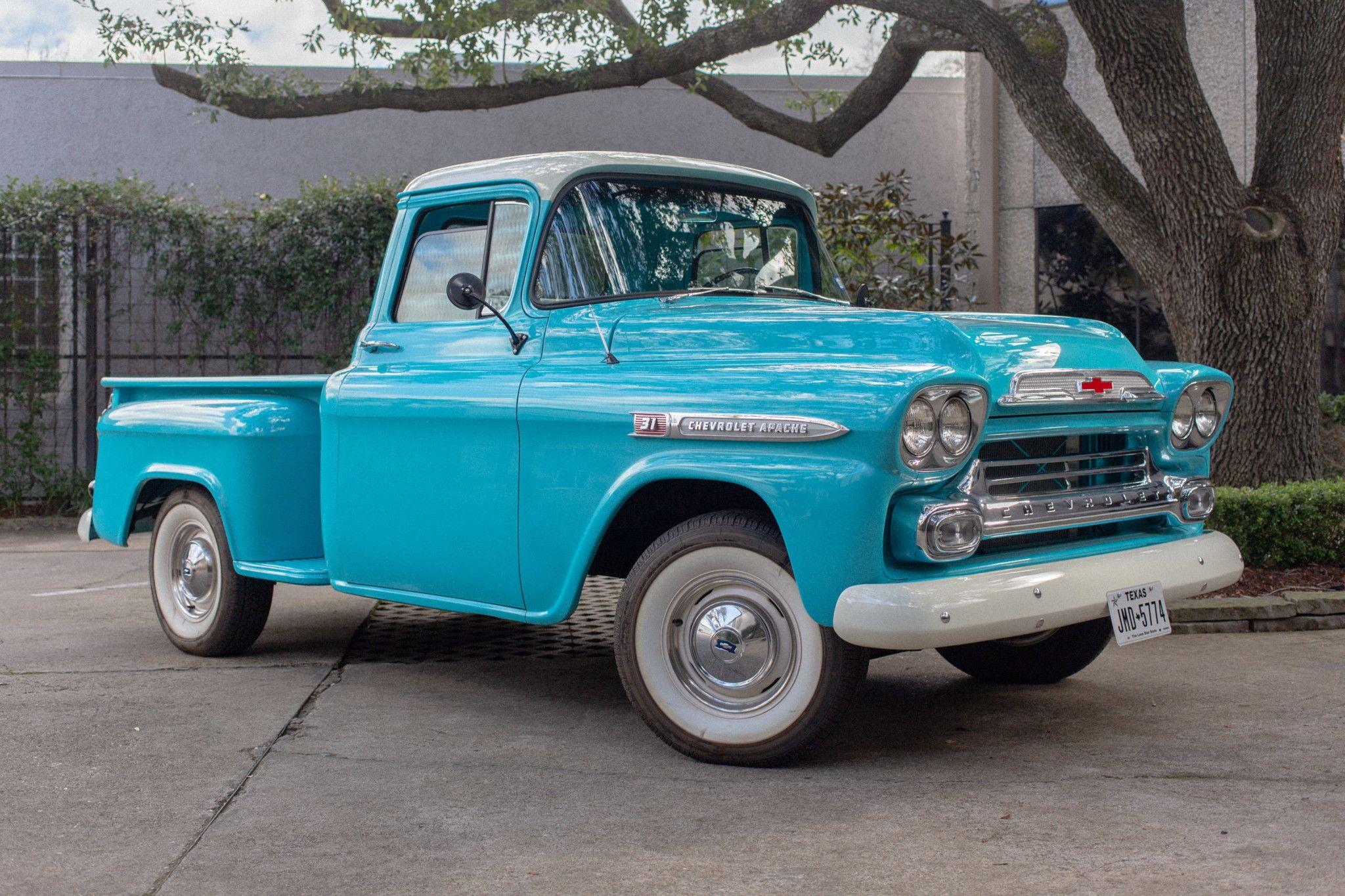 1959 Chevrolet Apache 31 Stepside Pickup | Chevrolet apache ...