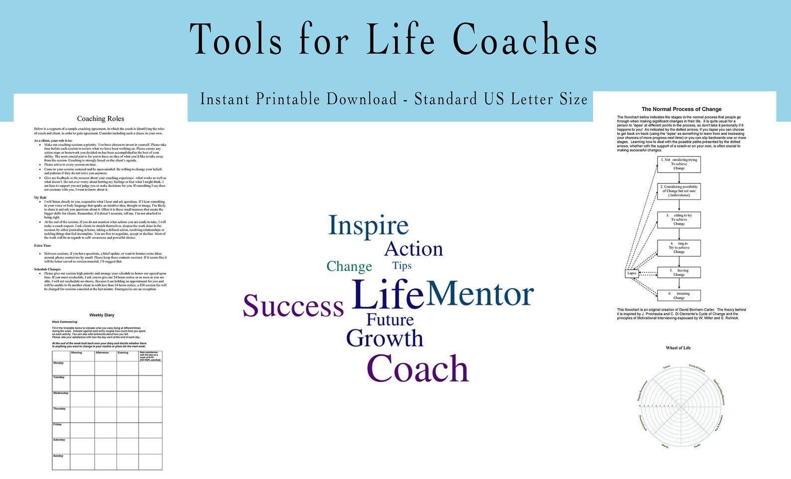 58 Coaching Forms Life Coaching Client Forms Coaching