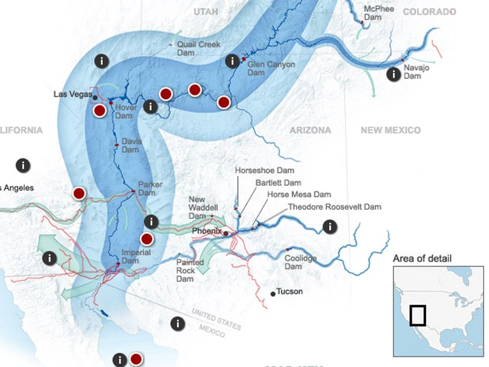 a brief history of colorado river and its geography At the dawn of the 20th century, the vast domain of the colorado river lay almost entirely untouched within two decades, everything changed western water law at that time was based on the simple rule that whoever.