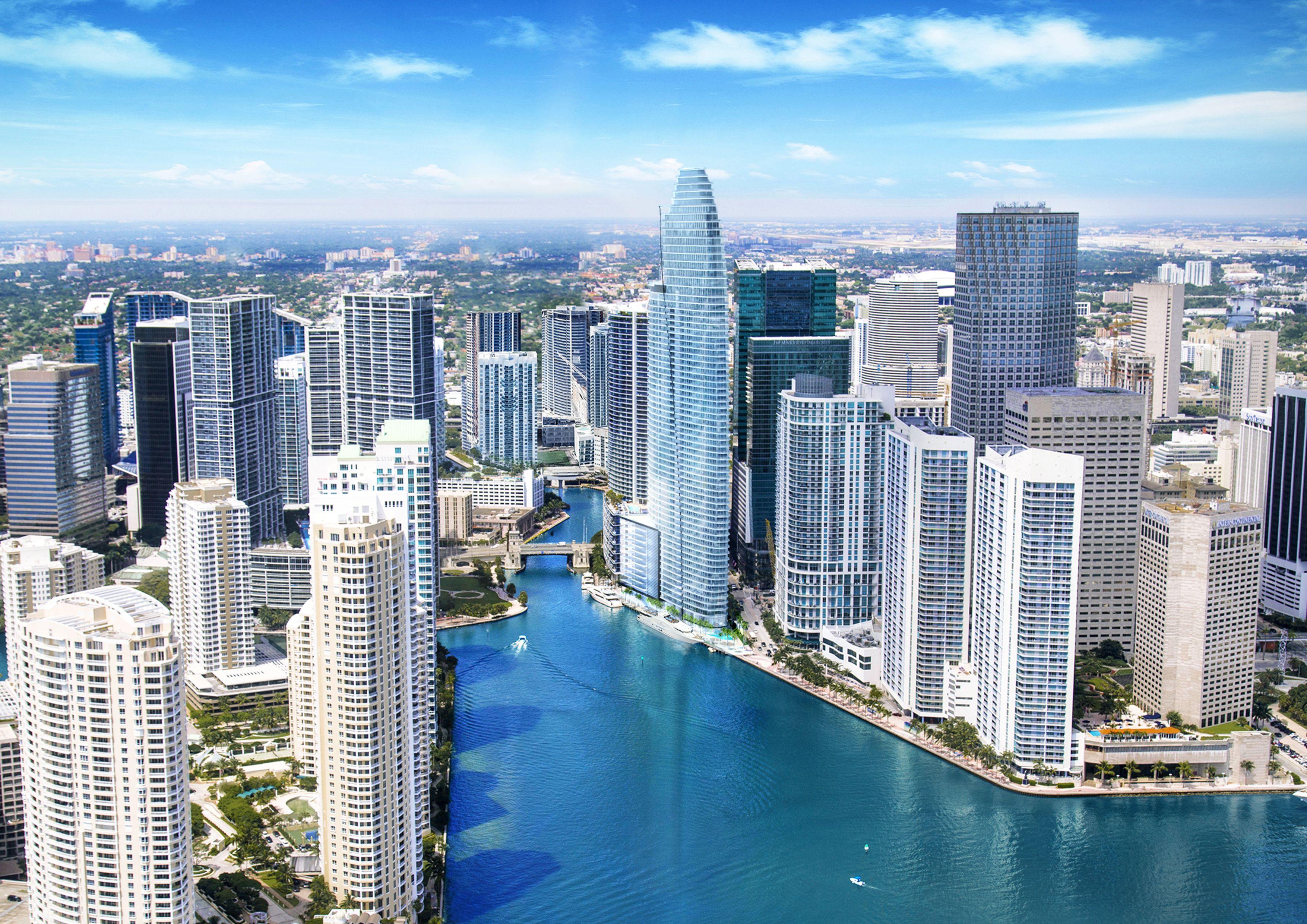 Aston Martin Residences Mia 1013 Apartments Miami Downtown New Construction Penthouse Predio Comercial Imóveis Arquitetura