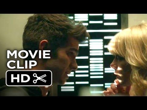 The Amazing Spider Man 2 Clip Peter And Gwen Kiss Movie Clip