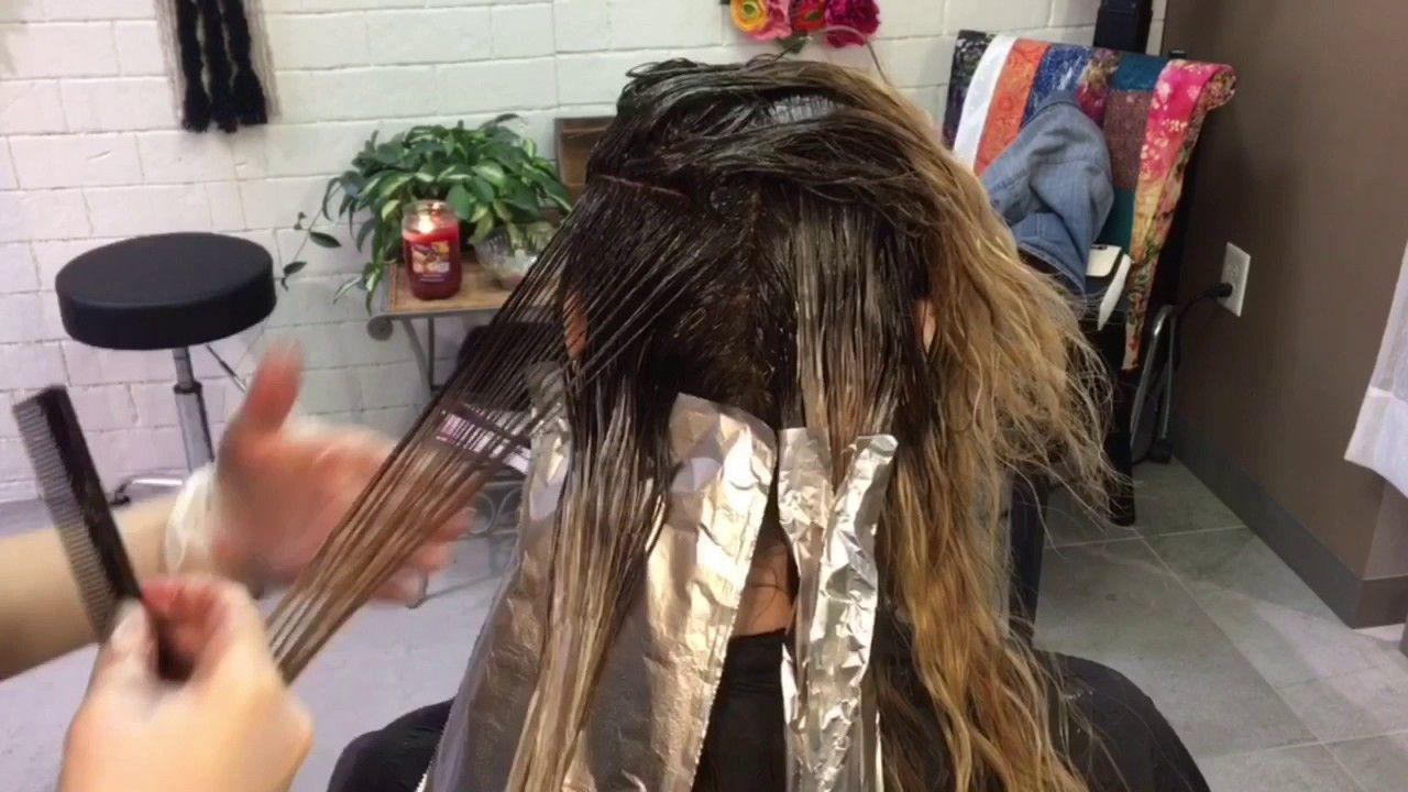 Shadow Root Balayage Hair Tutorial Youtube Hair Styles