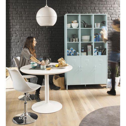 Bureau industriel maison du monde latest table extensible with bureau industriel maison du - Loft industriel playing circle ...