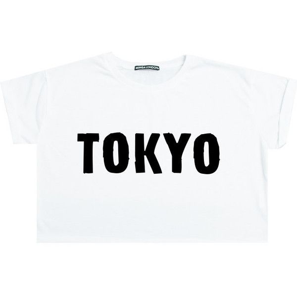 ba32ed1dcb61b Tokyo Crop Top T Shirt Tee Womens Girl Funny Fun Tumblr Hipster Swag ...