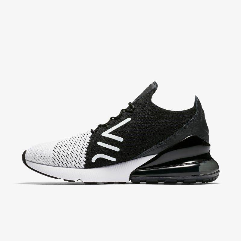 Nike Air Max 270 Flyknit Triple Black AO1023 005 Release
