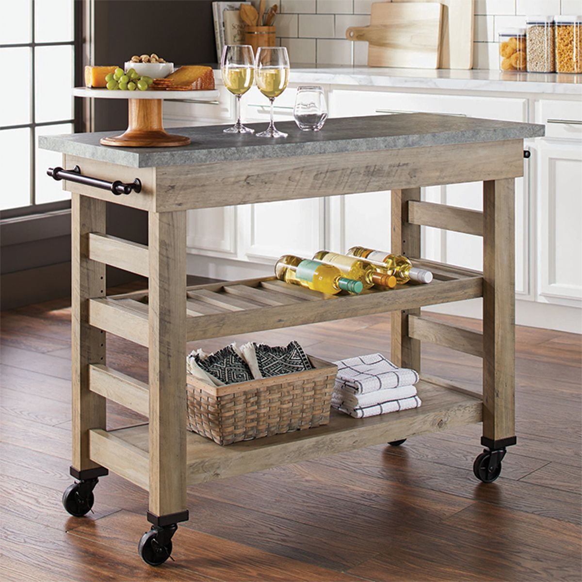 Better Homes And Gardens Granite Top Kitchen Island Cart