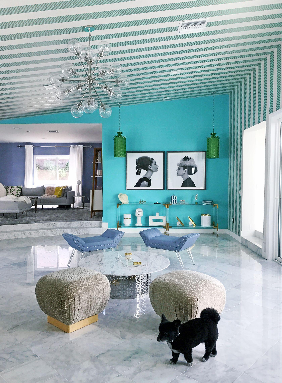 Https Www Sydnestyle Com Wp Content Uploads 2017 09 Sydne Style Shares Mid Century Mo Palm Springs Interior Design Palm Springs Mid Century Modern Home Decor