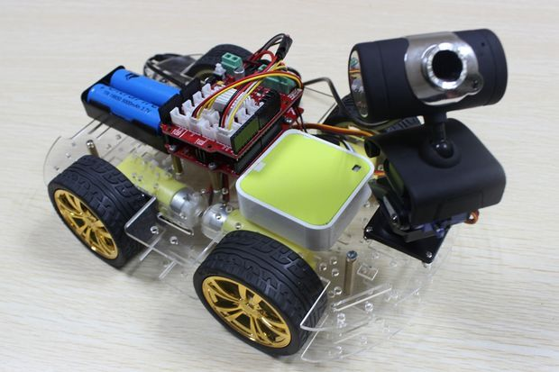 Multi-function Smart Car Kit Bluetooth Chassis Suit Tracking Compatible Uno R3 Diy Rc Electronic Toy Robot Reliable Performance Integrated Circuits Active Components