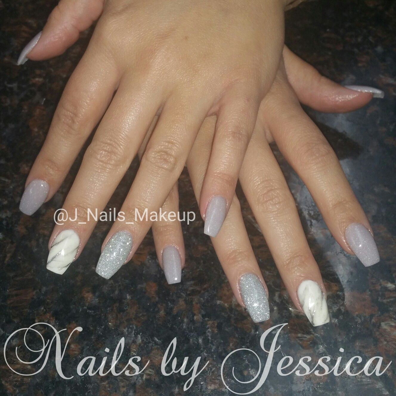 Nexgen dip powder nails with marble nail art   Nails By Yours Truly ...