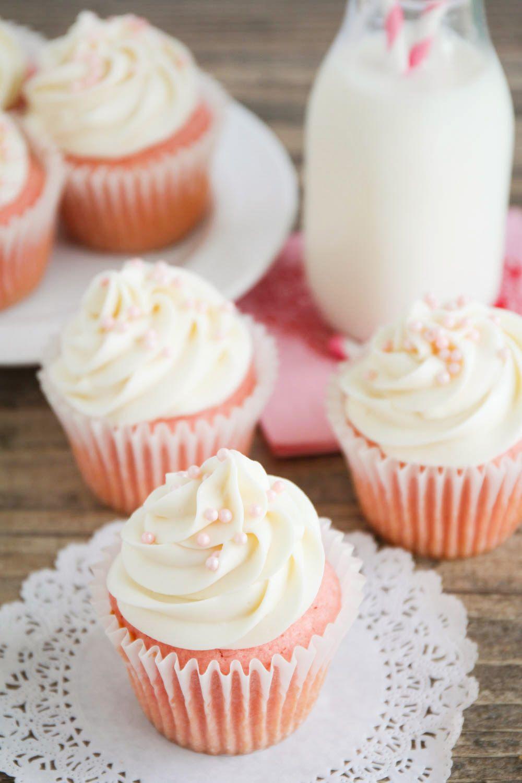 Pink Velvet Cupcake Recipe Baby Shower Desserts Pink Velvet