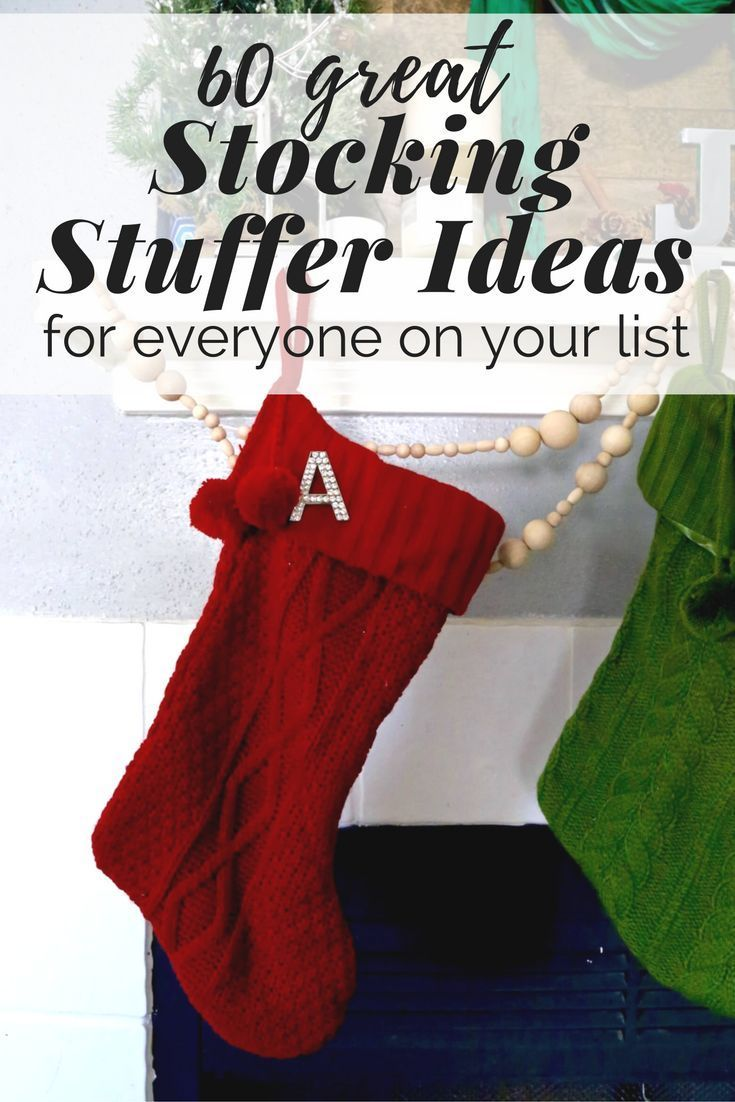 There Are 60 Diffe Stocking Stuffer Ideas In This Post For Men Women And