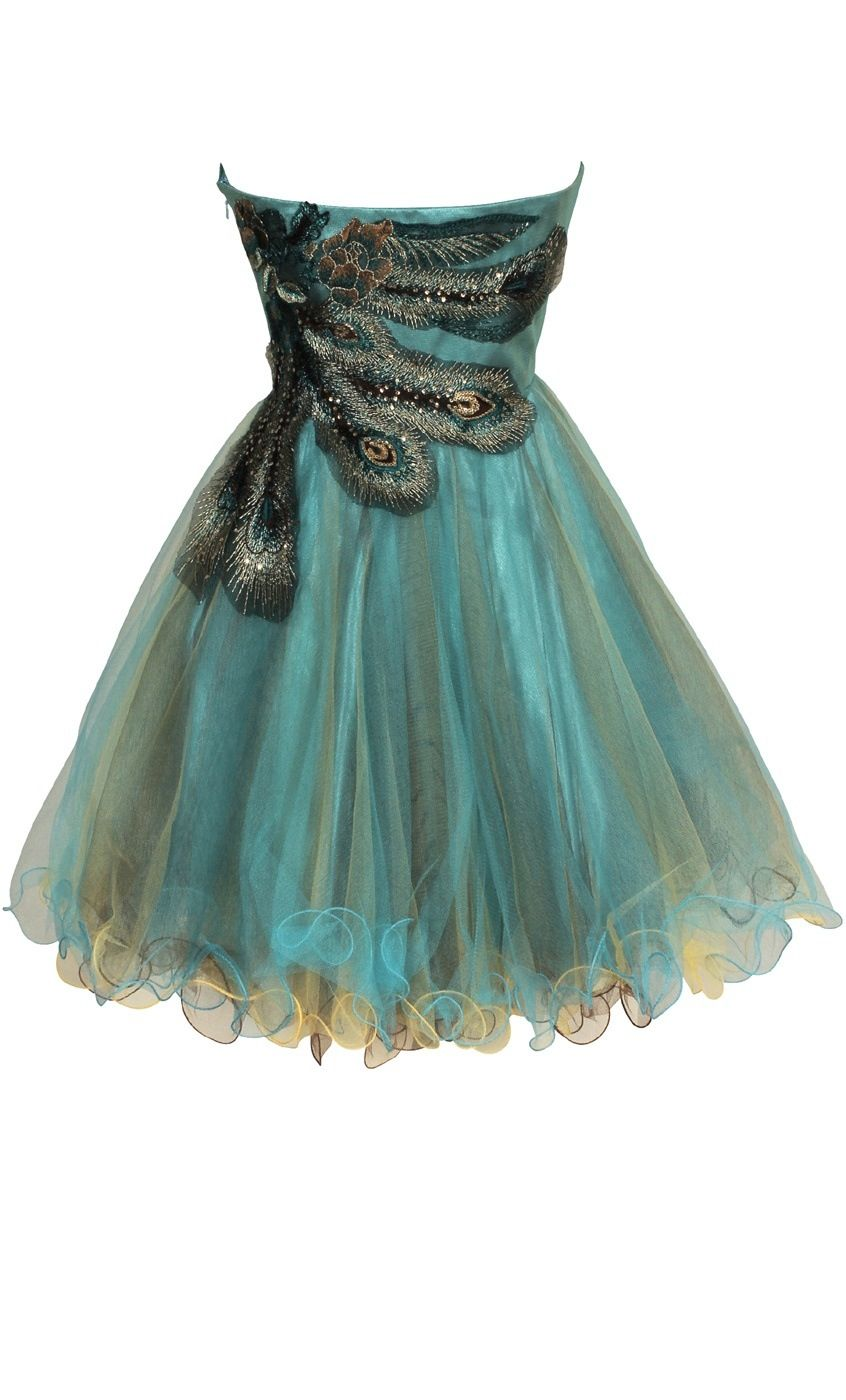 Peacock dress!   Anything and everything peacock   Pinterest ...
