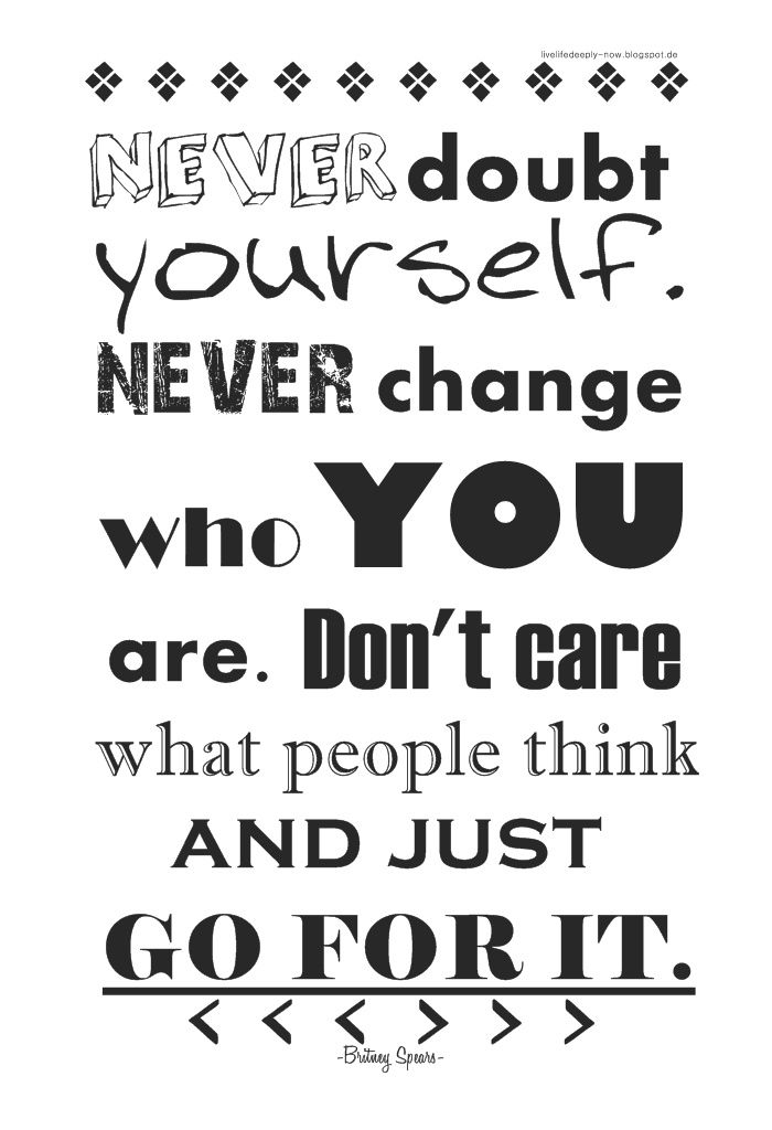 Quotes about never changing who you are