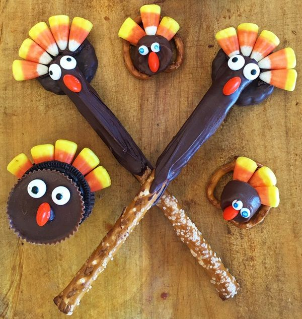 Easy Thanksgiving Craft Ideas Kids Part - 42: 35 Easy Thanksgiving Crafts For Kids To Try