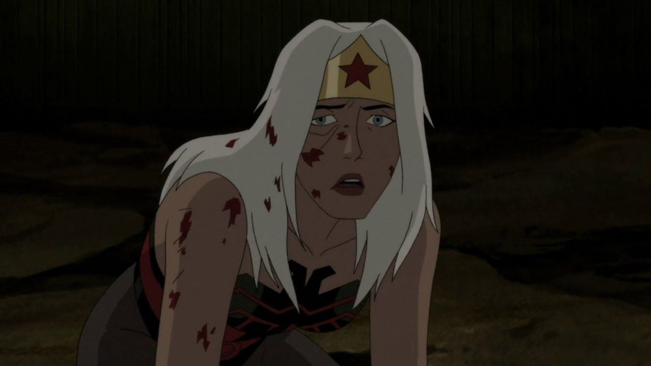 Superman Red Son Batman Kills Himself Wonderwoman Breaks Her Lasso Youtube In 2020 Superman Red Son Animated Movies Superman