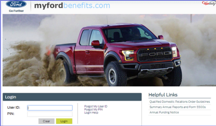Your Pay In 2020 Login Page Ford Employee Ford Company