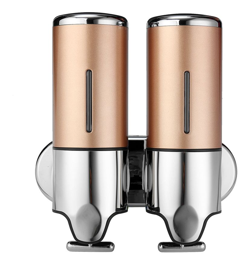 1000ml Salle De Bain Cuisine Douche Montage Mural Distributeur De Savon Bouteille Shampooing Gel Or Insma In 2020 Body Lotion Liquid Soap Soap Dispenser
