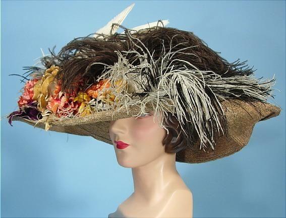Antique Dress Item For Sale In 2021 Hats Vintage Edwardian Hat Antique Dress
